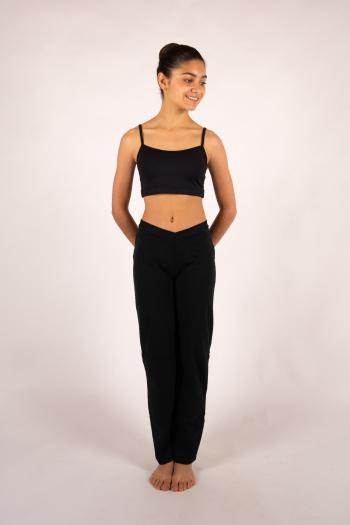 Pantalon droit Sansha Jaya Enfant Noir