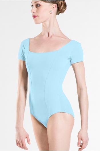 Justaucorps Wear Moi Odalia coton femme light bleu