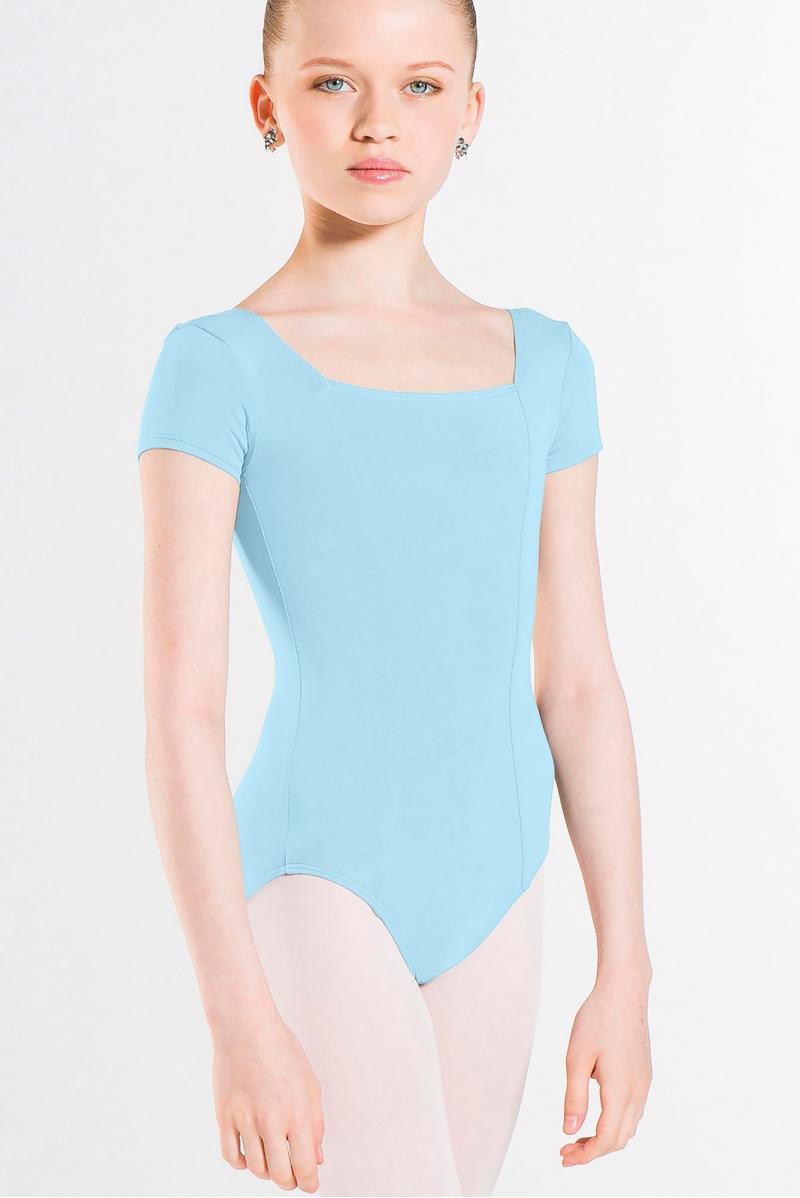 Wear Moi Odalia leotard for child light blue