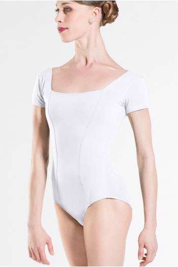 Justaucorps Wear Moi Odalia coton femme blanc