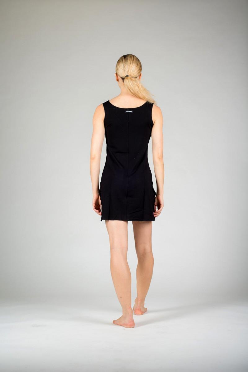 Temps danss Violine black tunic dress