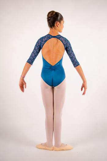Justaucorps enfant Ballet Rosa Anouk encre bleu