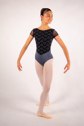 Justaucorps enfant Ballet Rosa Coralie gris