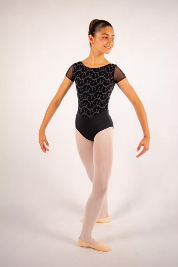 Justaucorps enfant Ballet Rosa Coralie noir