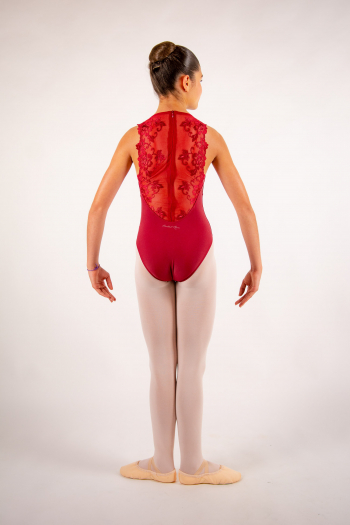 Justaucorps enfant Ballet Rosa Esther bordeaux