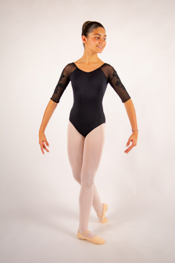Justaucorps enfant Ballet Rosa Gigi noir collection royal