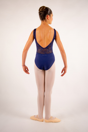 Justaucorps enfant Ballet Rosa Inaya marine