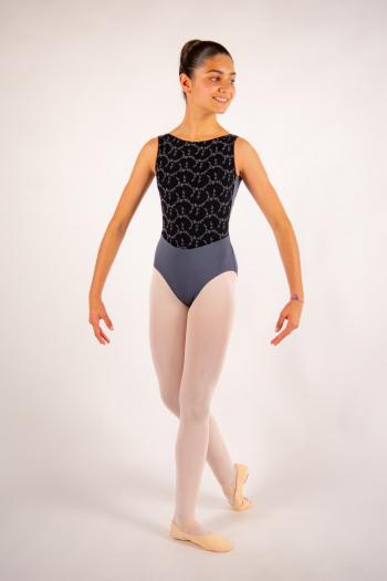 Justaucorps enfant Ballet Rosa Lorrelle gris