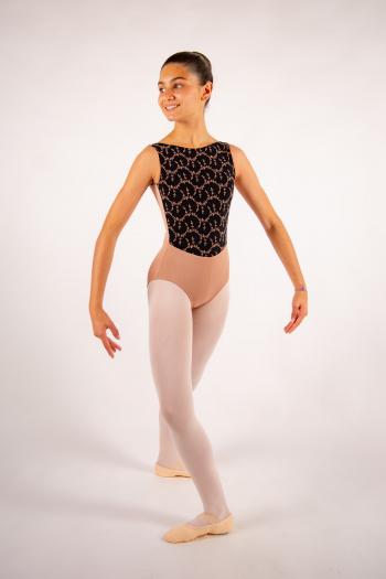 Justaucorps enfant Ballet Rosa Lorrelle café au lait
