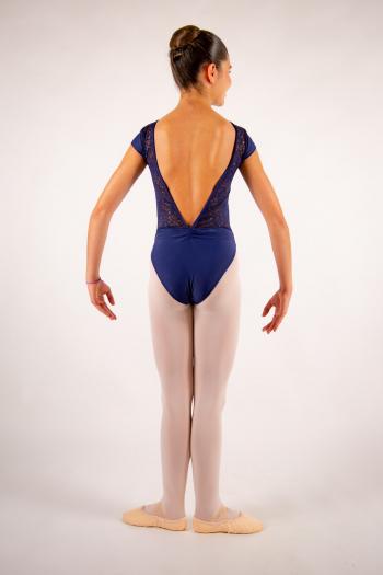 Justaucorps enfant Ballet Rosa Maeva marine