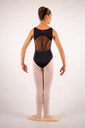 Justaucorps enfant Ballet Rosa River noir