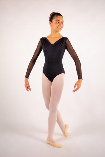 Justaucorps enfant Ballet Rosa Shirley noir
