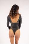 Body Mahaut La Nouvelle Noir Lurex