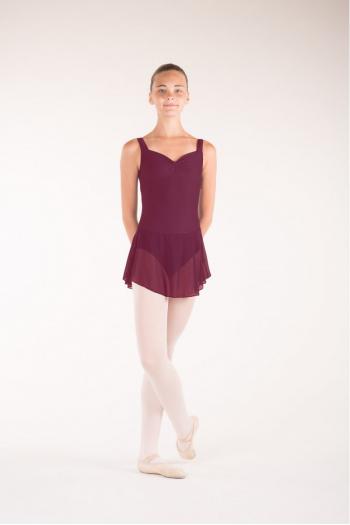 Wear Moi Daphne child burgundy skirt
