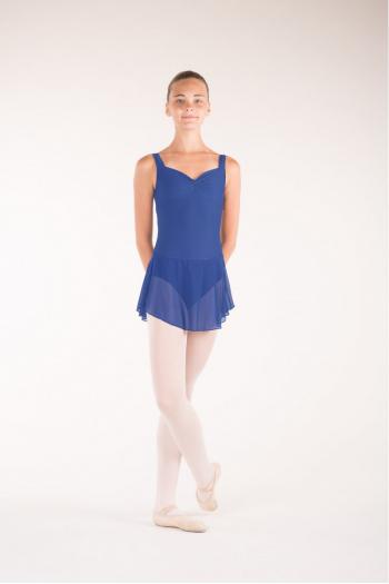 Wear Moi Daphne child royal blue skirt