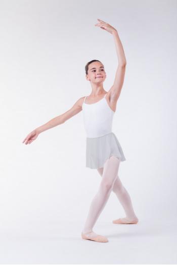 Wear Moi Daphne child light grey skirt