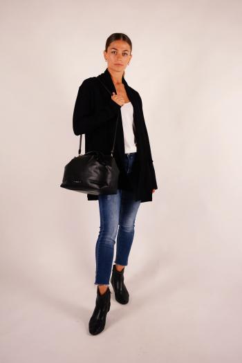 Bag Repetto Petit Drappé M0733 black
