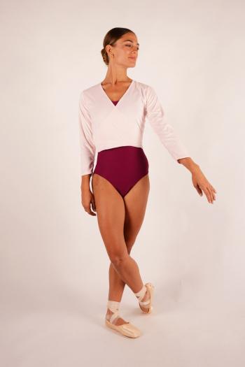 Adult Fluffy pink wrap Dansez-vous