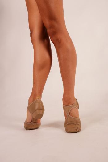Chaussures de professeur Capezio Pedini caramel
