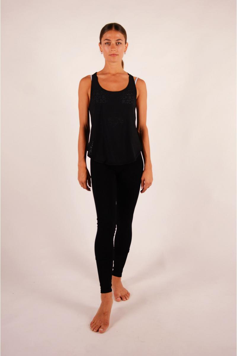 T-shirt woman Bloch Jalani black Limited Edition