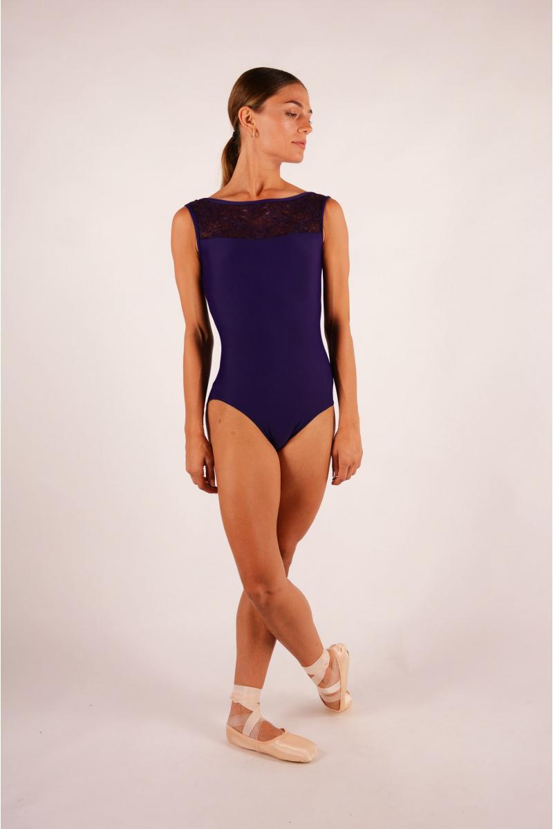Justaucorps Ballet Rosa Camila prunus femme