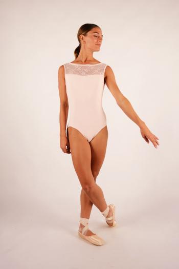 Justaucorps Ballet Rosa Camila poudré femme