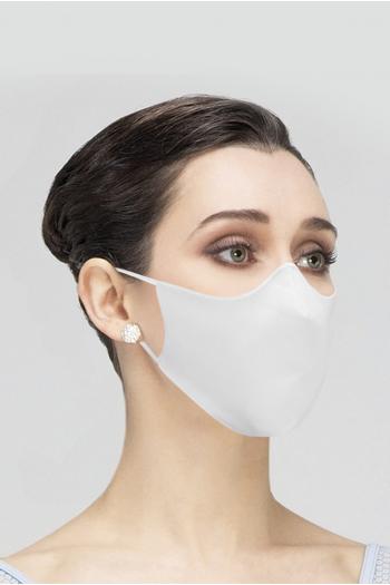 Masque catégorie 1 Wear Moi MASK008 en coton femme blanc