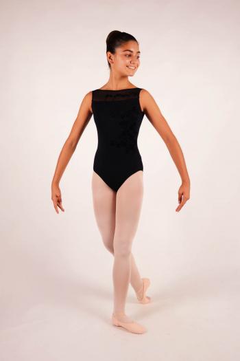 Justaucorps enfant Ballet Rosa collection royal collection versailles Adèle noir