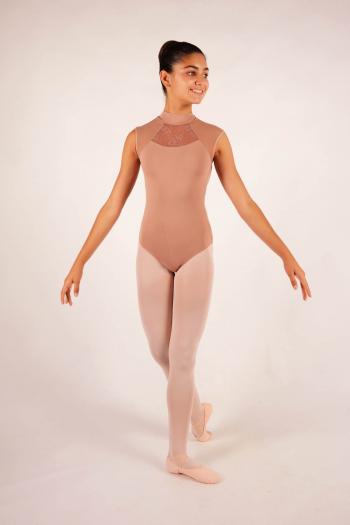 Justaucorps enfant Ballet Rosa Anita café au lait