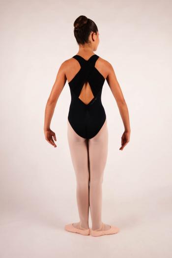 Leotard Ballet Rosa Hope black for child