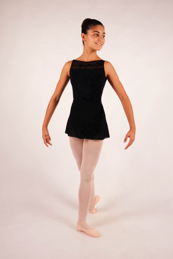 Jupette enfant Ballet Rosa Leonie collection versailles noire