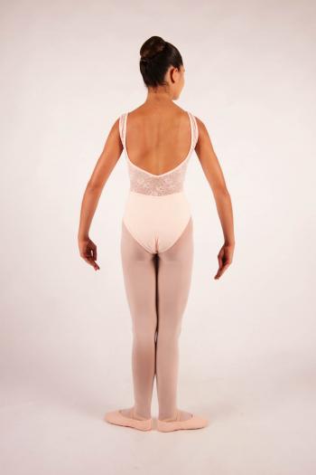 Justaucorps enfant Ballet Rosa Inaya poudré