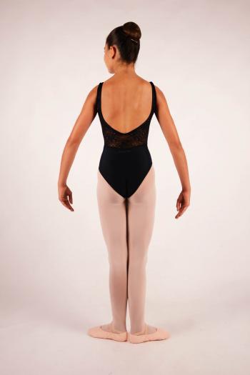 Leotard Ballet Rosa Inaya black for child