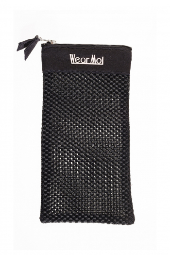 Pochon demi-pointes zippé Wear Moi black/salmon