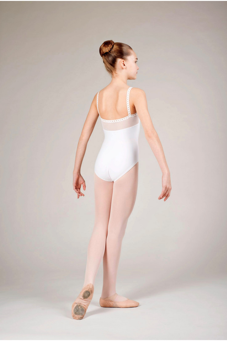 Wear Moi Flora white leotard