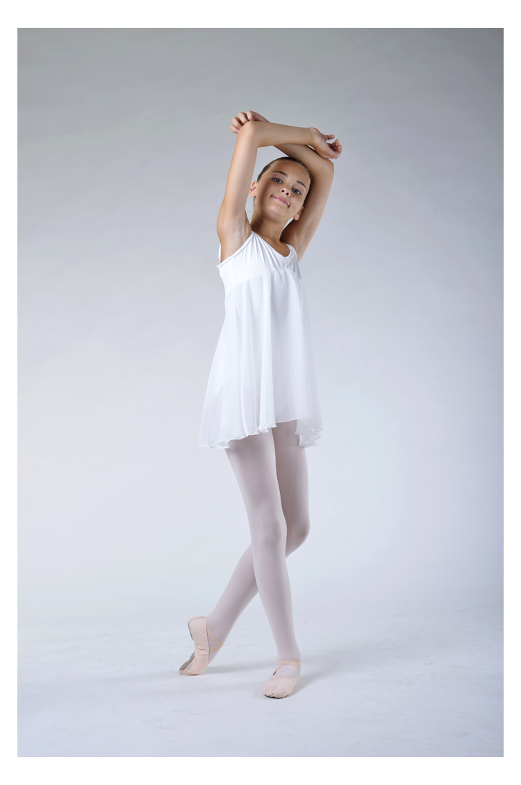 Bloch Juliet white Dress Leotard