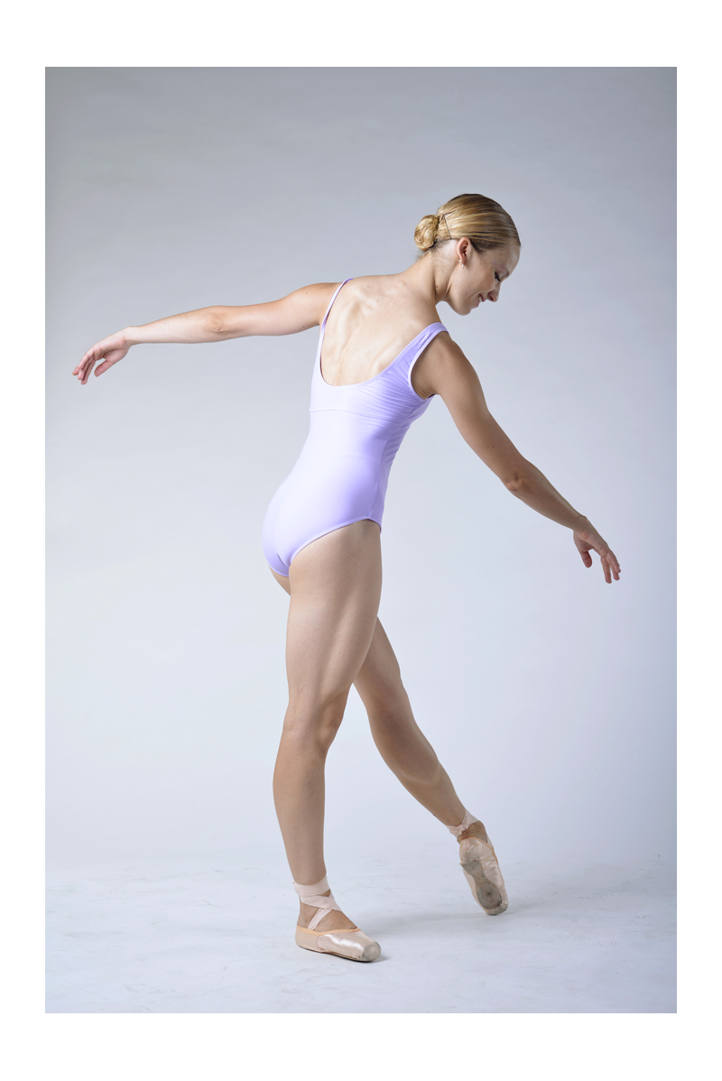 Wear Moi Galate lilac leotard