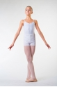 Ballet Rosa Nour dance white shorts