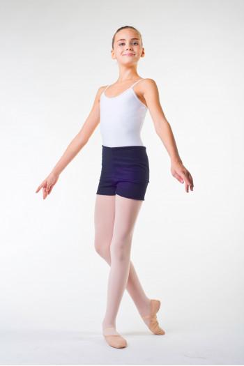 Ballet Rosa Nour dance black shorts