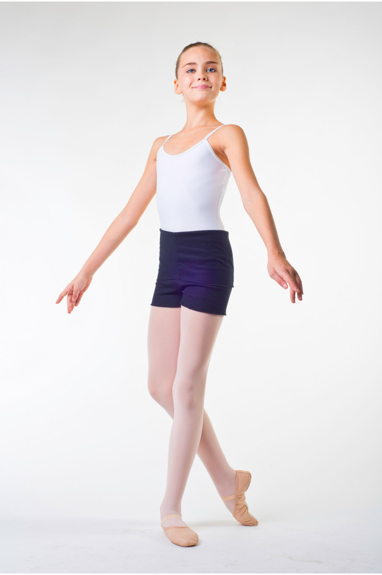Short danse ballet rosa enfant noir
