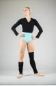 Wear Moi black knitted leg warmers