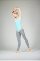 Wear Moi grey knitted full leg warmers