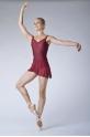 Alegro Wear Moi maroon short skirt
