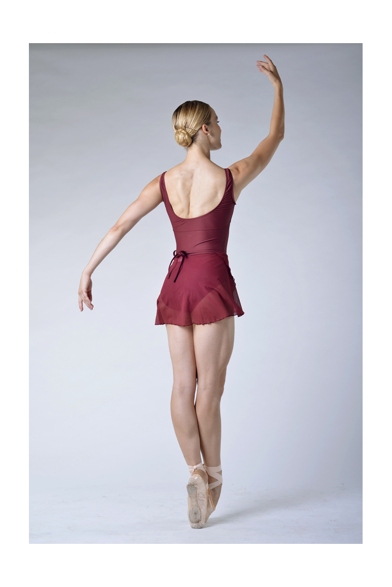 Alegro Wear Moi maroon short skirt
