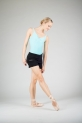 Wear Moi Tiara black knitted shorts