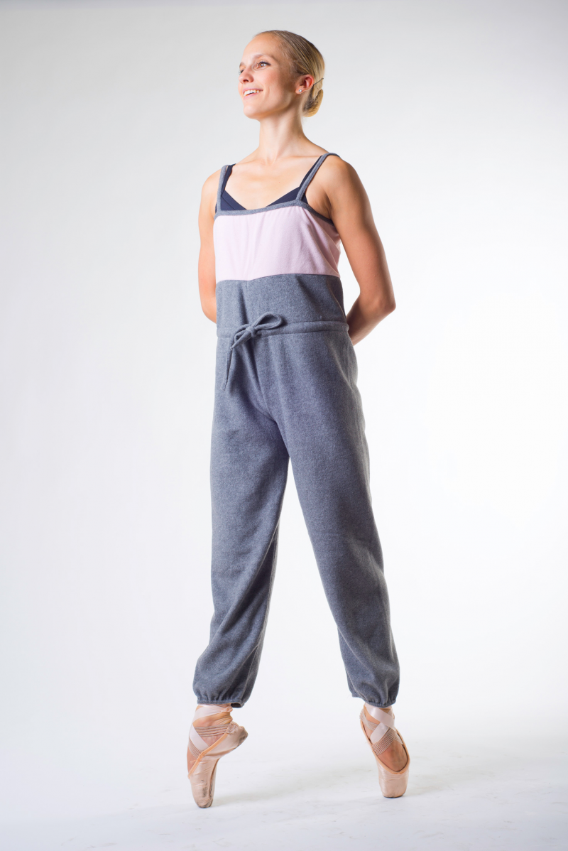 Sansha Gaby grey/pink camisole unitar