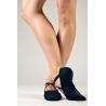 Sansha soft black ballet shoes Pro 1C