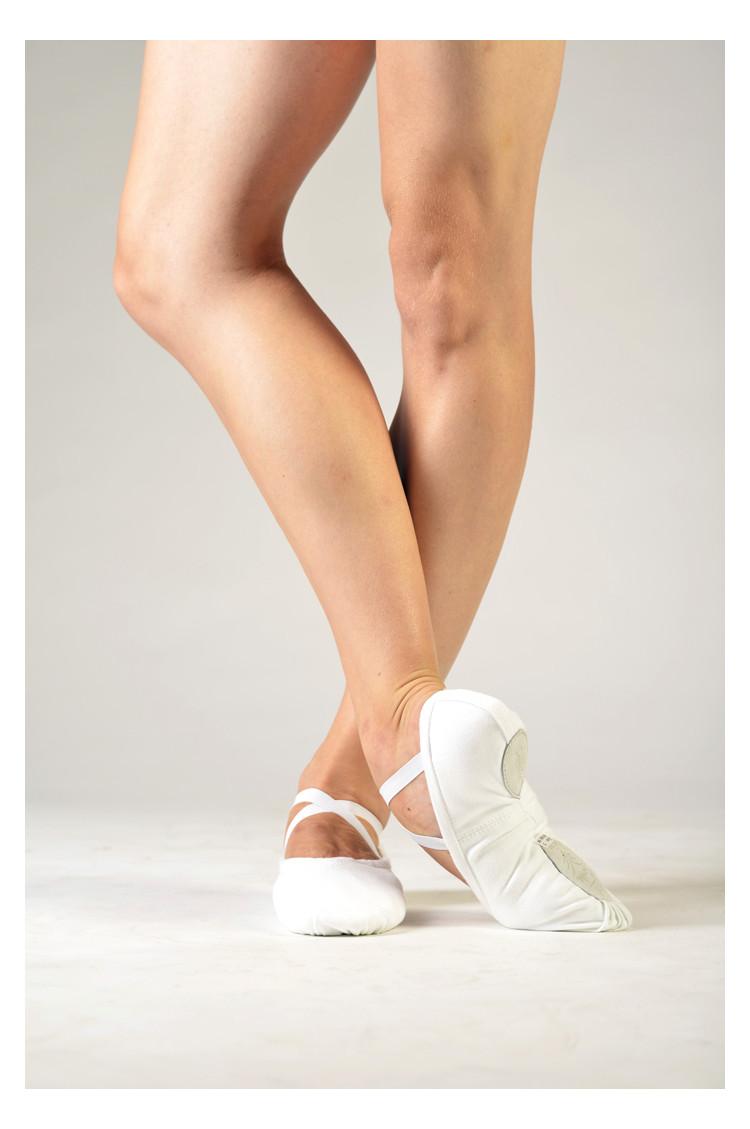 Sansha soft white ballet shoes Pro 1C