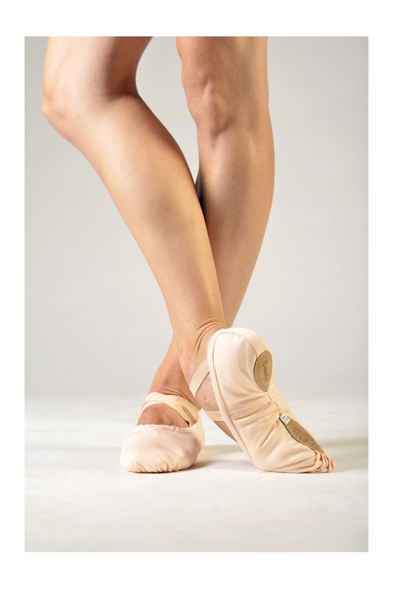Sansha soft light pink ballet shoes Pro 1C