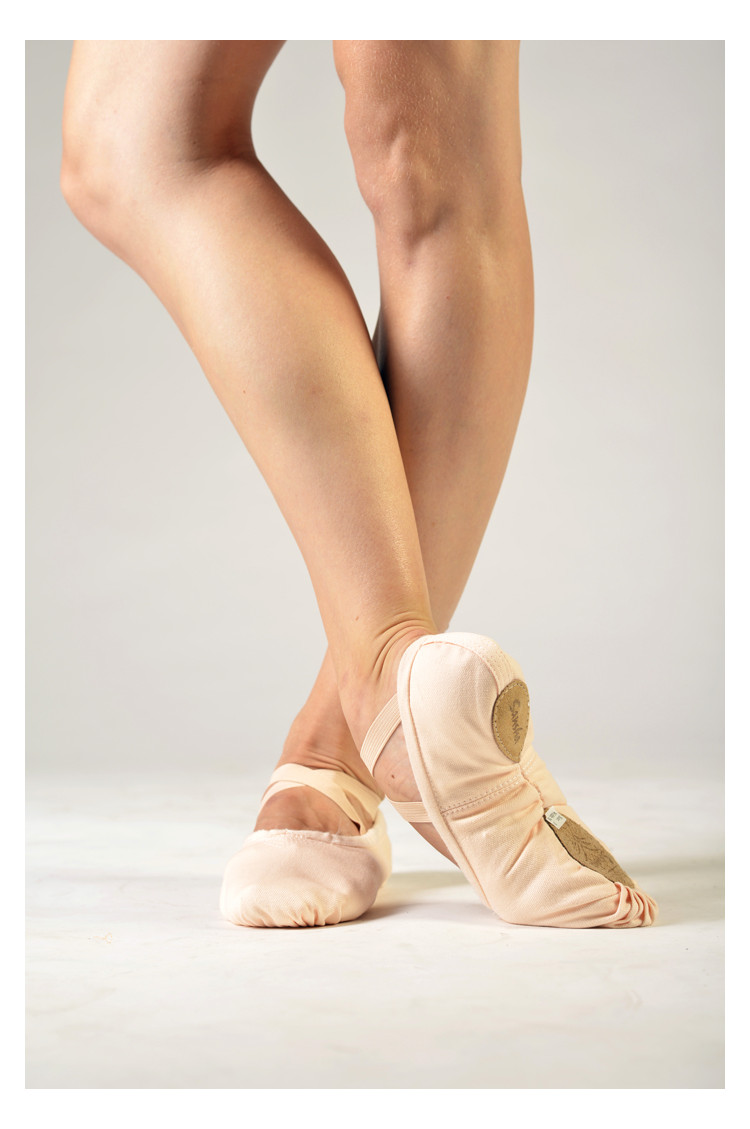 Sansha soft light pink ballet shoes Pro 1C